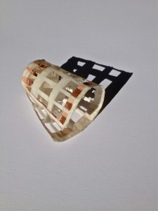 paper coffee cup with wax, © Eva Mantell 2014